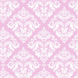 200 Hojas papel seda estampado damasco color rosado 62 x 86 cm
