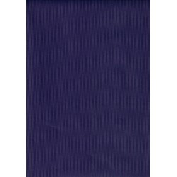 100 Mts x 35 cm Bobina de Papel de Regalo kraft azul reflex blue