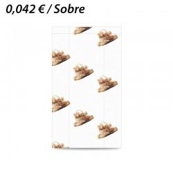 100 SOBRES DE PAPEL 20+10x35 PANADERIA