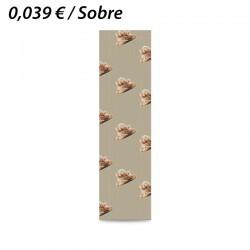 100 SOBRES DE PAPEL KRAFT 15+5x55 PANADERIA