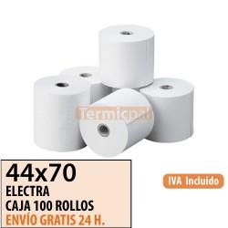 100 ROLLOS DE PAPEL OFFSET 44X70