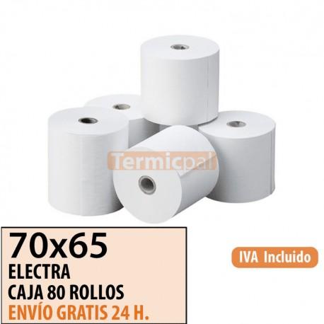 ROLLO DE PAPEL OFFSET 70X65 (CAJA 80 UDS)