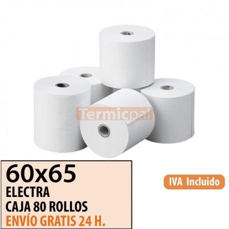 ROLLO DE PAPEL OFFSET 60X65 (CAJA 80 UDS)
