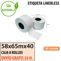58X65 metros [58x100x40] – 8 Rollos LINERLESS
